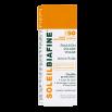 Emulsion solaire visage FPS 50 haute protection UVA et UVB, texture fluide, peaux très claires