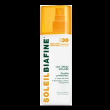 Lait spray solaire FPS 30 haute protection UVA et UVB