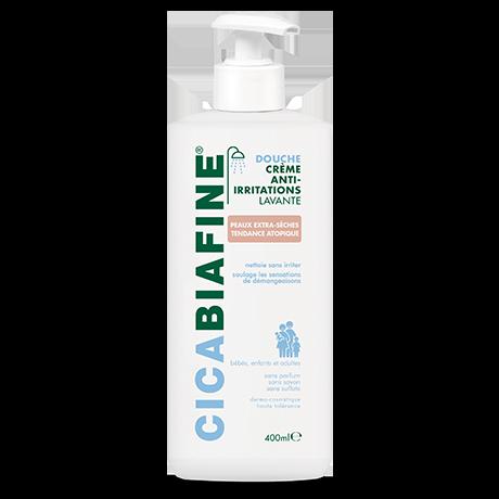 Crème douche anti-irritations hydratante pour peaux extra-sèches ou à tendance atopique