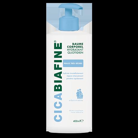 baume corporel hydratant quotidien 400 ml peaux très sèche