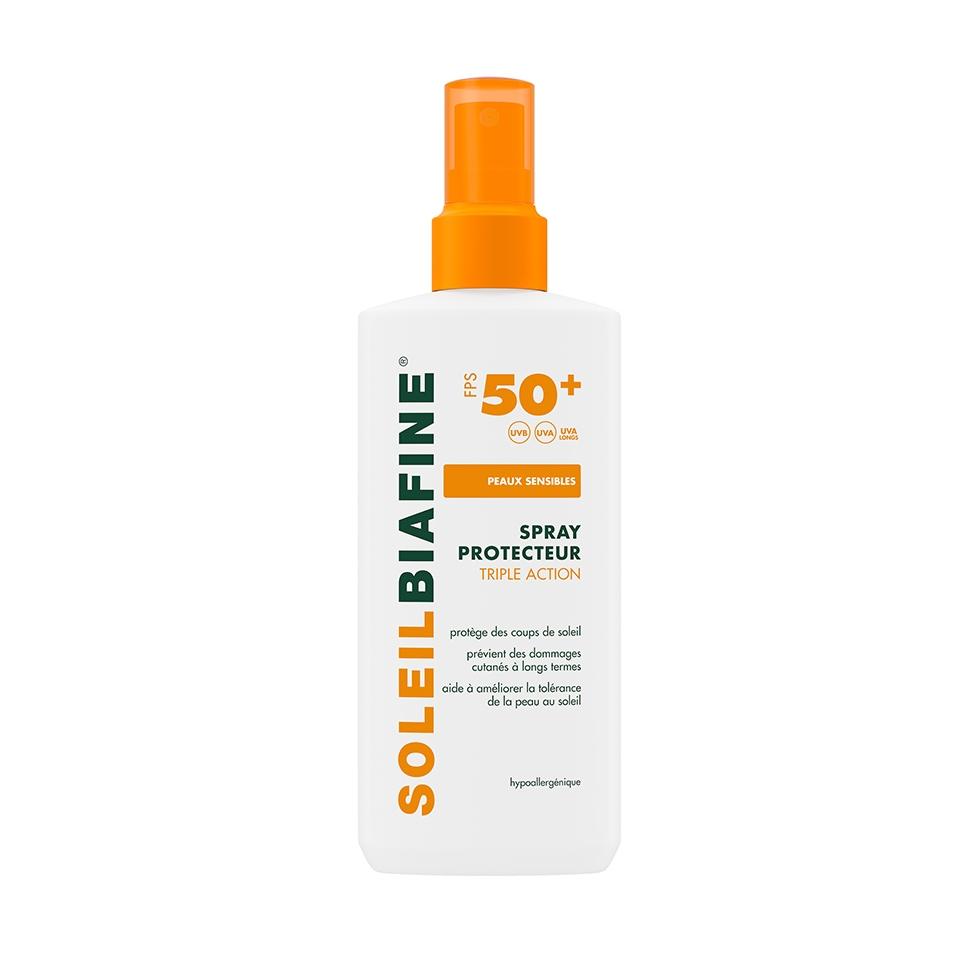 SOLEILBIAFINE Spray Protecteur Triple Action FPS 50+