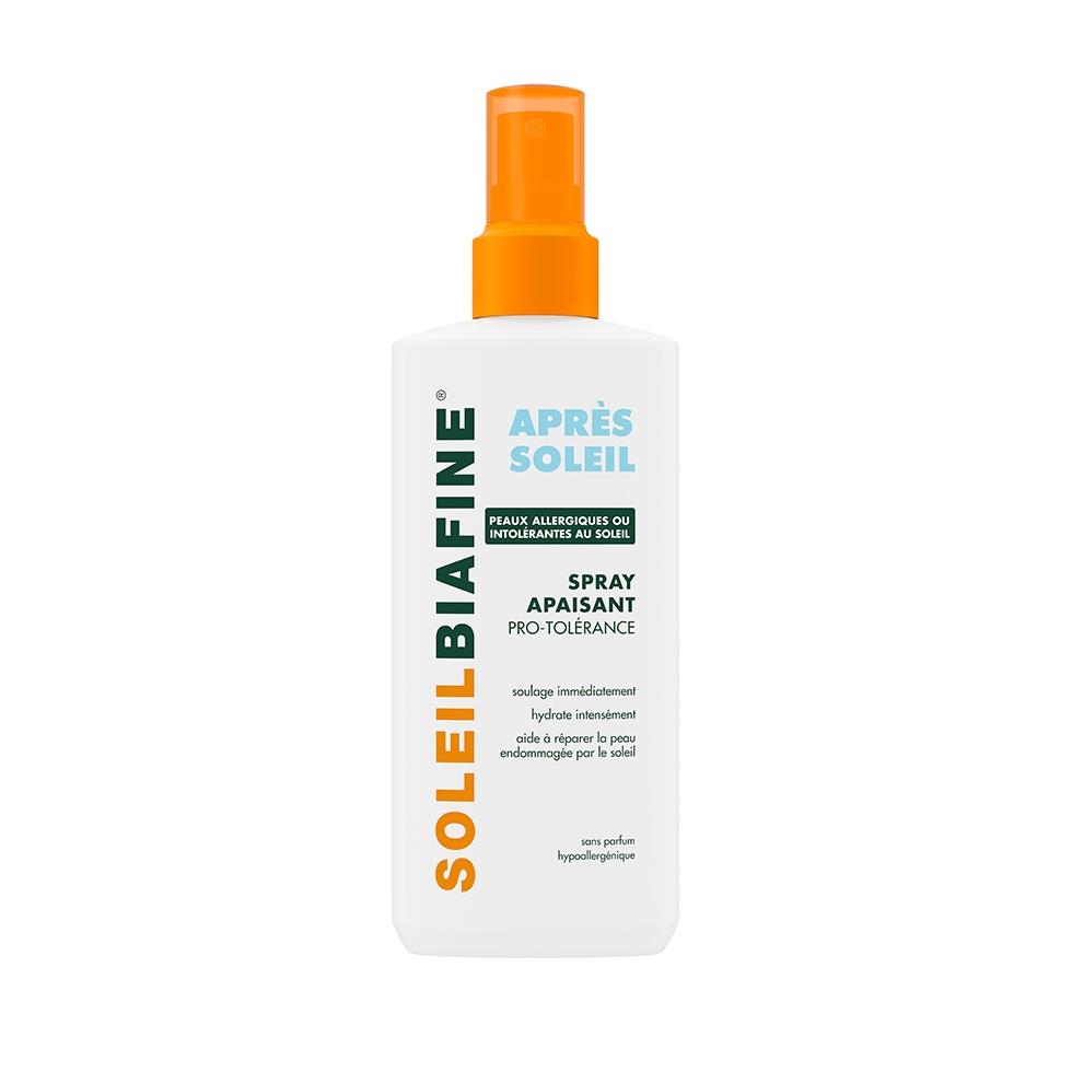SOLEILBIAFINE Spray Après-Soleil Apaisant Pro-Tolérance