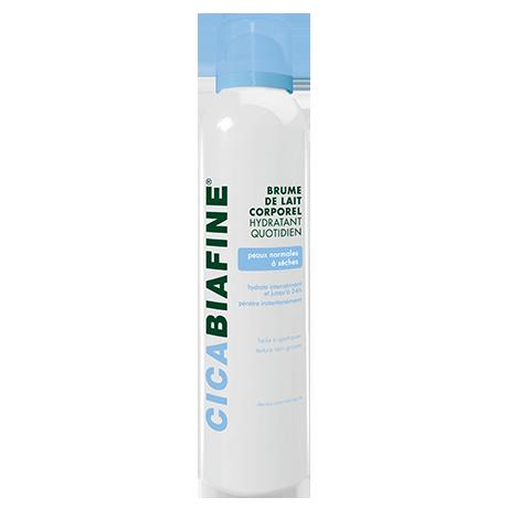Brume de lait corporel hydratant quotidien pour peaux normales à peau sèches