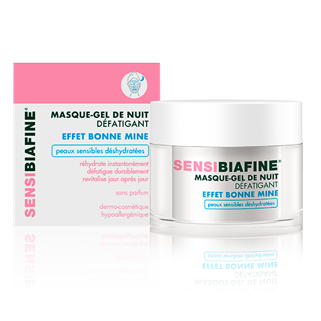 SENSIBIAFINE Masque-Gel De Nuit Défatigant Effet Bonne Mine