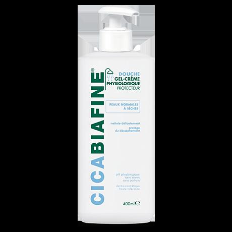 Le gel-crème douche physiologique protecteur des peaux normales à sèches