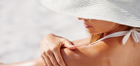 Les effets du soleil sur la peau