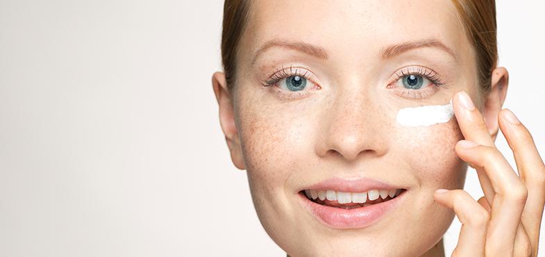 Tous les types de peau du visage